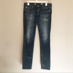 Ag Adriano Goldshmied Aubrey Skinny Jeans Size 28
